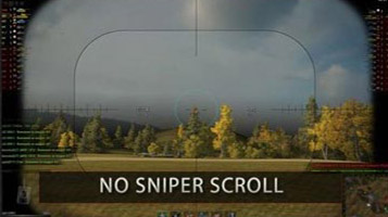 no sniper scroll