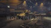 hangar steel hunter for world of tanks