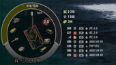 панель повреждений hunter для wot